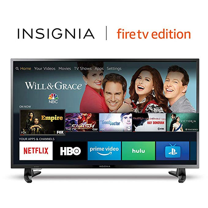 An image of Insignia NS-39DF510NA19 39-Inch HD LED 60Hz Smart TV