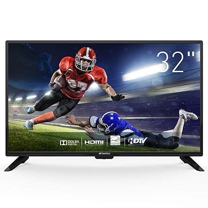An image related to Sansui 32-Inch Flat Screen HD LED 60Hz 1280 X 720 TV