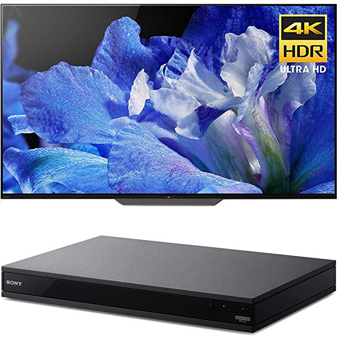 An image of Sony E12SNXBR55A8F 55-Inch HDR 4K OLED TV with Sony Motionflow XR | Your TV Set