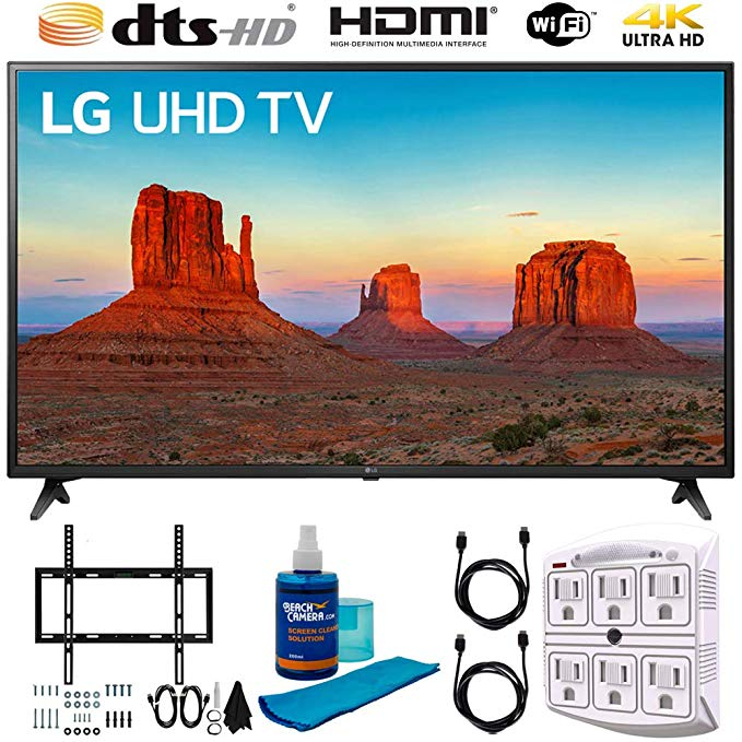 An image of LG 60-Inch HDR 4K LED TV