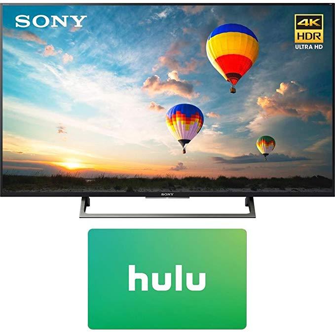 An image of Sony E14SNXBR55X800E 55-Inch HDR 4K LED TV