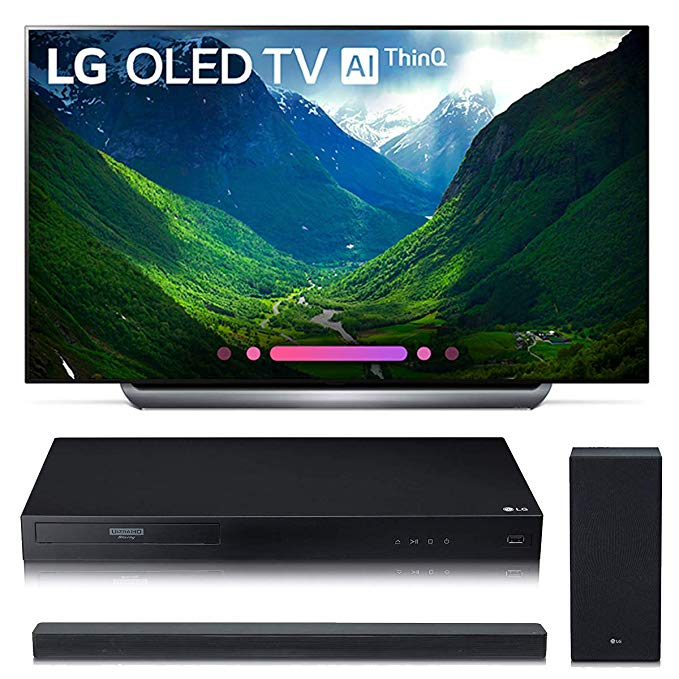 An image of LG OLED55C8P 55-Inch HDR 4K OLED TV