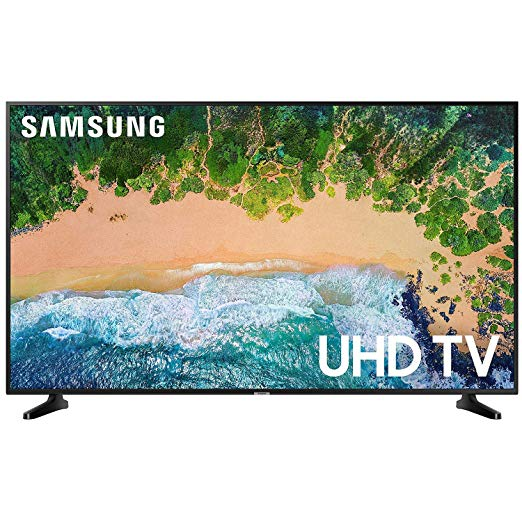 An image of Samsung UN55NU6950FXZA 55-Inch HDR 4K LED 120Hz TV with Samsung Motion Rate 120