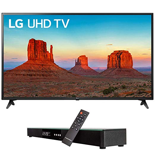 An image of LG E2LG60UK6090 60-Inch HDR Slim Bezel 4K LED TV