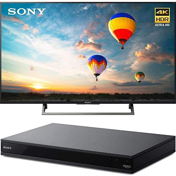 An image of Sony E12SNXBR43X800E 43-Inch HDR 4K LED TV