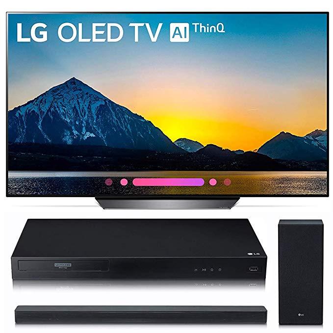 An image of LG OLED55B8PUA 55-Inch HDR 4K OLED Smart TV