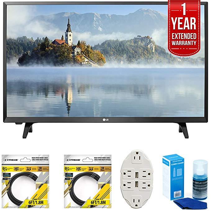 An image of LG LJ500B E9LG32LJ500B 32-Inch Flat Screen HD LED 60Hz TV