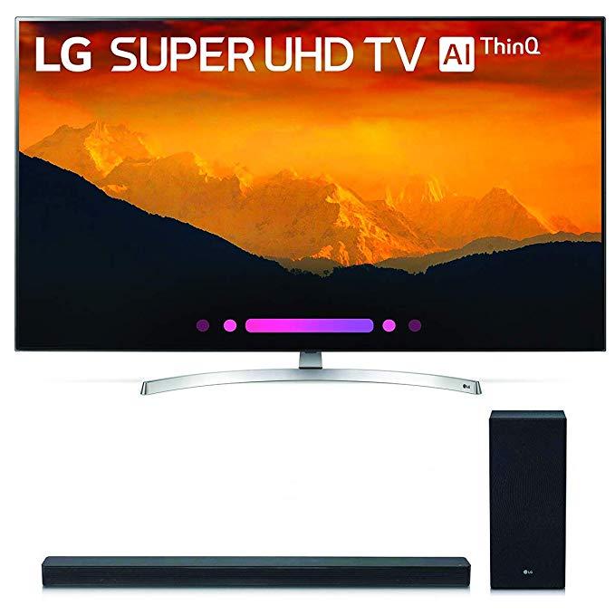 An image of LG 65SK9000 65-Inch HDR Slim Bezel 4K LED Smart TV