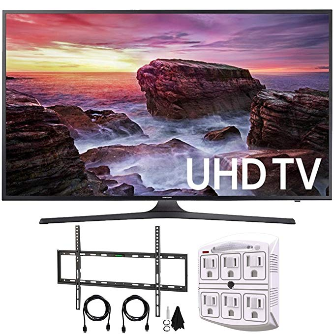 An image of Samsung 6 Series UN65MU6290FXZA 90-Inch HDR 4K LED Smart TV with Motion Rate 120