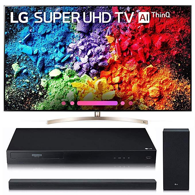 An image of LG 65SK9500 65-Inch HDR Slim Bezel 4K LED TV