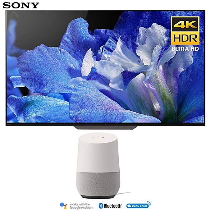 An image of Sony XBR55A8F 55-Inch HDR 4K OLED Smart TV with Sony Motionflow XR