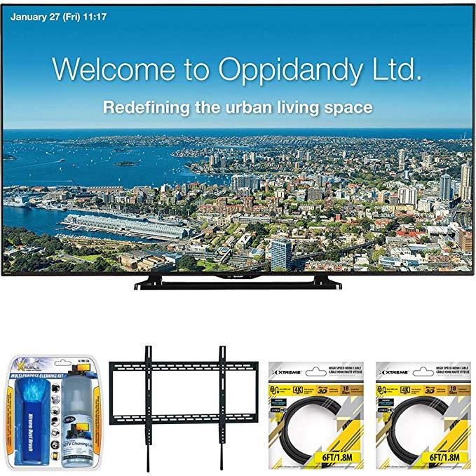 An image of Sharp PN-LE701 100-Inch Slim Bezel FHD LED TV