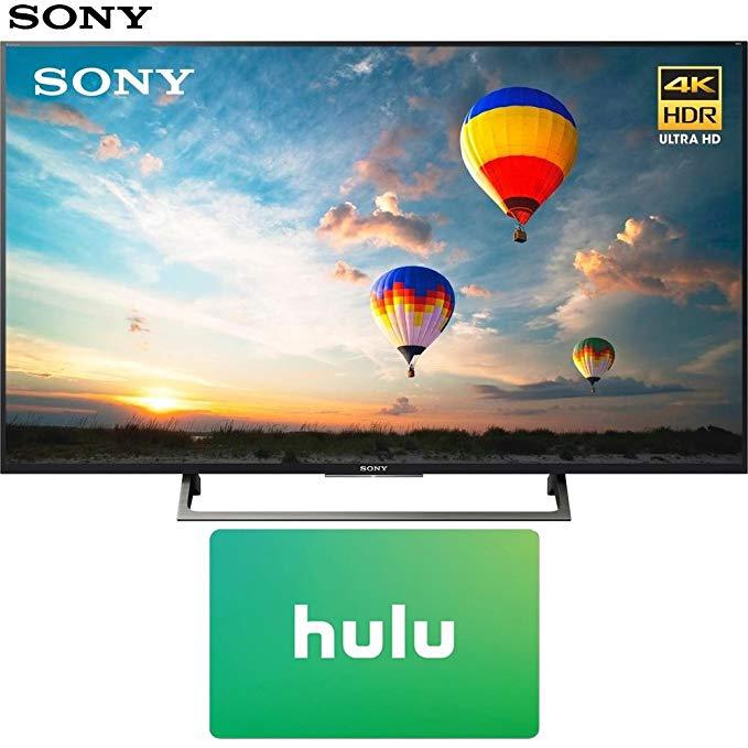 An image of Sony E2SNXBR55X800E 55-Inch HDR 4K LED TV