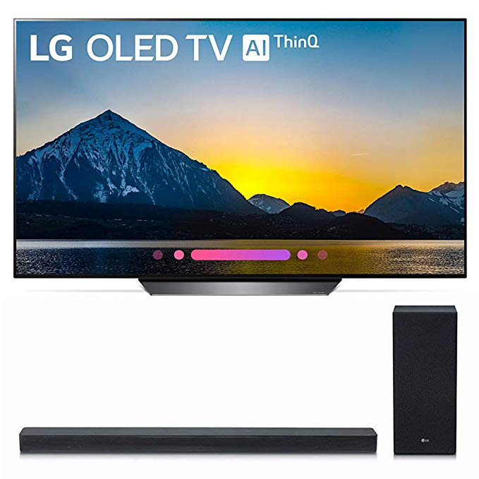 An image related to LG OLED55B8PUA 55-Inch HDR 4K OLED TV