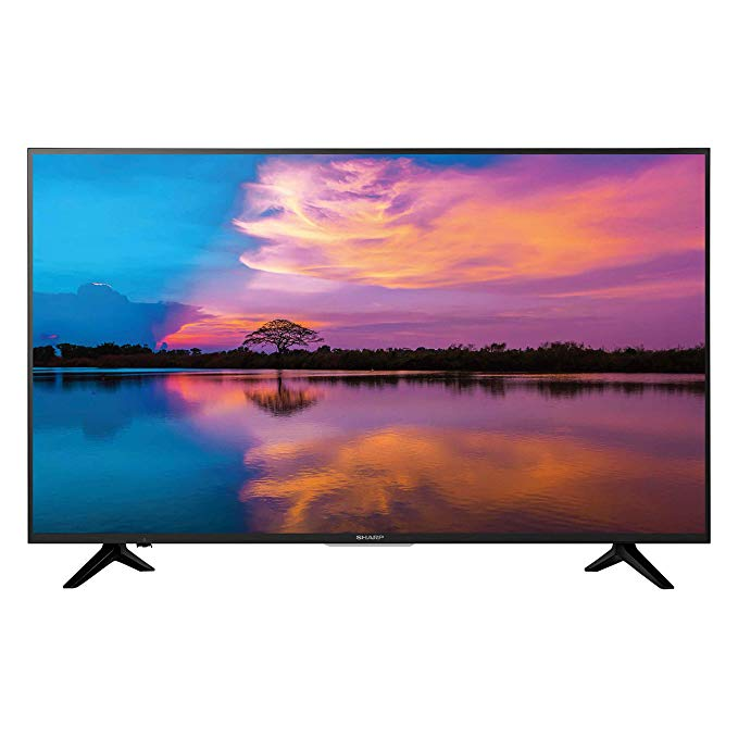 An image related to Sharp LC-55Q7030U 55-Inch HDR 4K LED TV