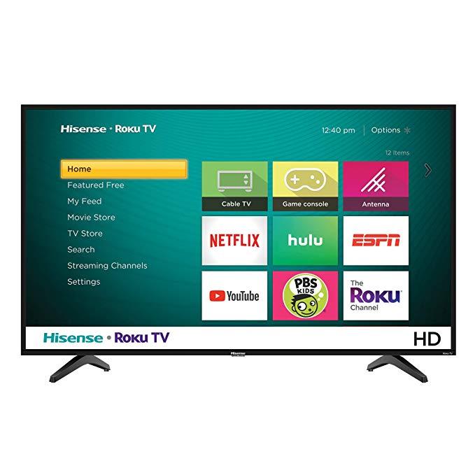 An image of Hisense 40-Inch 4K LED 60Hz TV