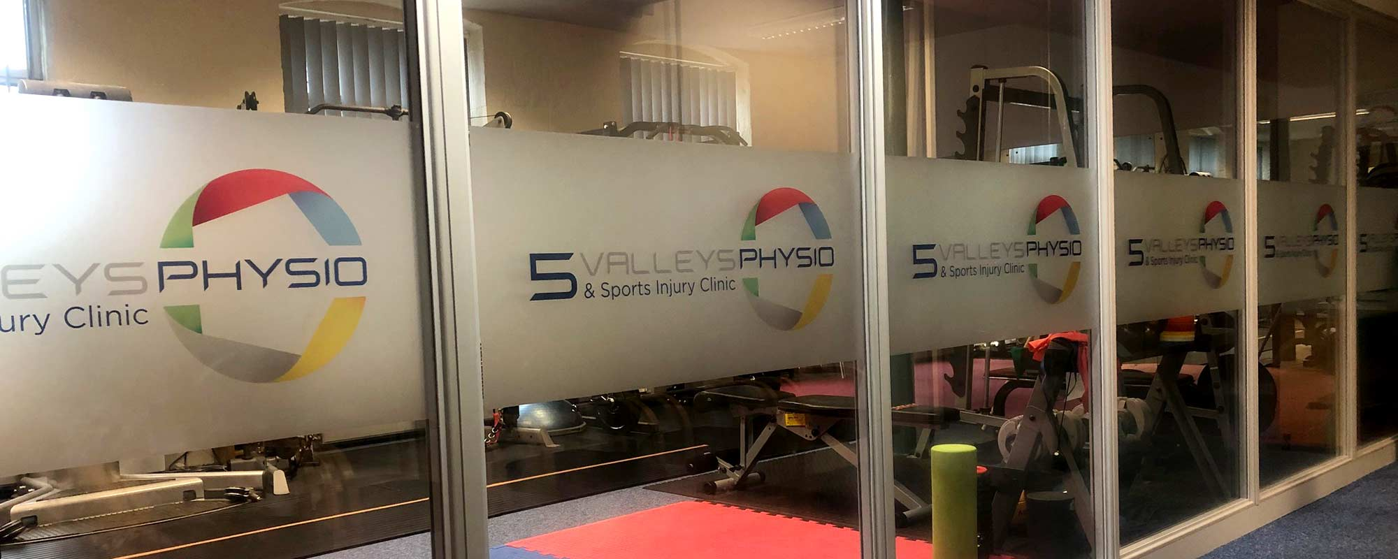 5 Valleys Physiotherapy brand