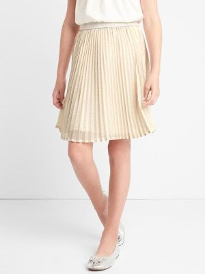 Photo of Shimmer waist pleated skirt