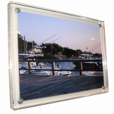 Clear Hanging Memory Frame