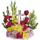Crystal Cross Bouquet (Premium)