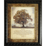 Living Life Memorial Framed Art
