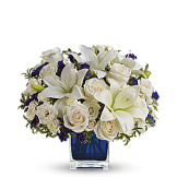 Sapphire Skies Bouquet (Premium)