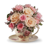 Victorian Teacup Bouquet (Standard)