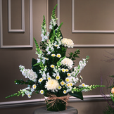 All White Sympathy Arrangement