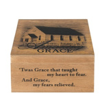 """Amazing Grace"" Keepsake Memory Box"