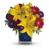 Blue Caribbean Bouquet (Standard)