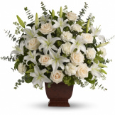 Loving Lilies and Roses Bouquet (Standard)