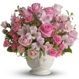 Pink Potpourri Bouquet (Deluxe (Pictured))