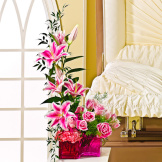 In Her Honor Pedestal Arrangement