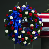 Military Honors Standing Wreath