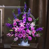 Lavender Sympathy Basket