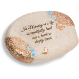 "In Memory - 6"" L x 2.5"" H Memorial Stone"
