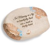 """In Memory - 6"""" L x 2.5"""" H Memorial Stone"""