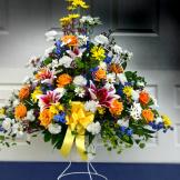 Grand Pedestal Basket