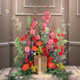 Summer Garden Urn Arrangement