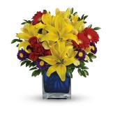 Blue Caribbean Bouquet (Deluxe)