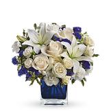 Sapphire Skies Bouquet (Standard)