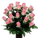 Pastel Pink Rose (Silk Cemetery Flowers)