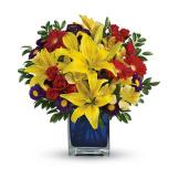 Blue Caribbean Bouquet (Premium)
