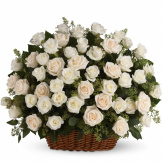 Bountiful Rose Basket (Standard)