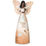"EBN Mother - 9"" Ebony Angel Figuirine"