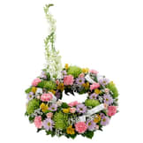 Cremation / Memorial Floral Wreath