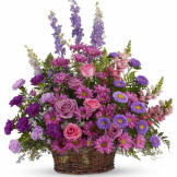 Gracious Lavender Basket