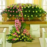 Eternal Garden Basket
