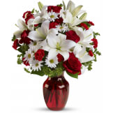 Be My Love Bouquet with Red Roses (Premium)