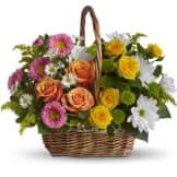 Sweet Tranquility Basket (Deluxe)